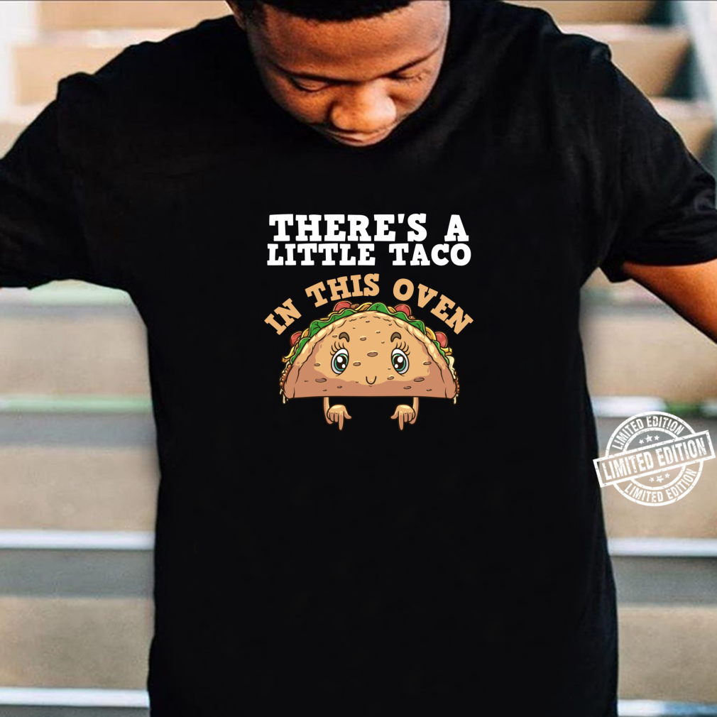 Funny Taco Pregnancy Announcement Cool Mexican Food Pun Shirt