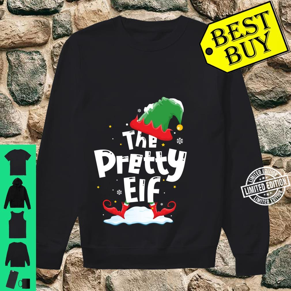 The Pretty Elf Family Matching Group Christmas Shirt sweater